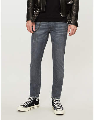 The Kooples Chain-detail slim-fit skinny jeans