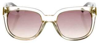 Marc by Marc Jacobs Tinted Wayfarer Sunglasses