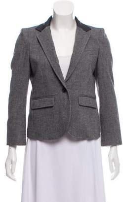 Boy By Band Of Outsiders Wool Structured Blazer