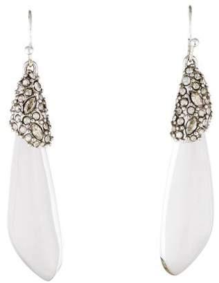 Alexis Bittar Resin & Crystal Drop Earrings