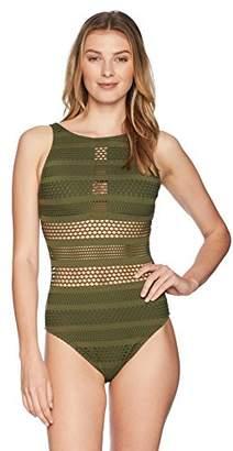 Bleu Rod Beattie Women's Sheer Thing One-Piece Swimsuit