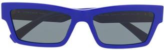 Versace Eyewear rectangular frame sunglasses