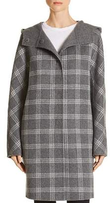 Theory Letav Wool & Cashmere Plaid Coat - 100% Exclusive