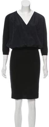 Philosophy di Alberta Ferretti Knit Knee-Length Dress