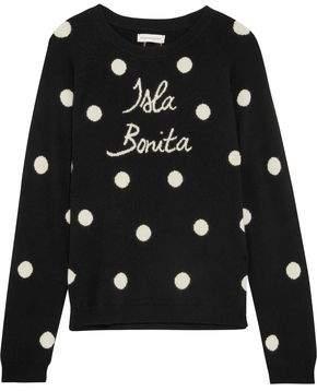 Chinti and Parker Isla Bonita Intarsia Cashmere Sweater