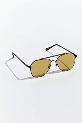 Urban Outfitters Wire Color Lens Navigator Sunglasses