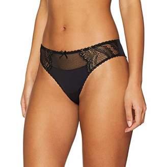 79134e69c Lovable Women s Lavish Golden Lace Brazilian Knicker (Size  Medium)