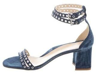 Marion Parke Beth Denim Sandals w/ Tags