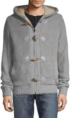 Faux Fur Toggle Sweater
