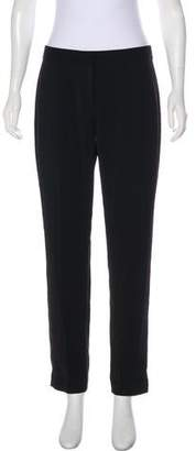 T Tahari High-Rise Straight-Leg Pants