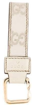 Gucci Guccissima Leather Keychain