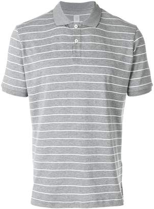 Eleventy striped fitted T-shirt