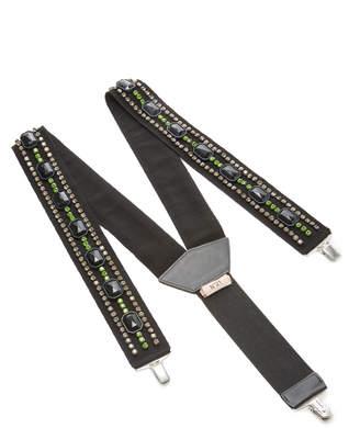 N°21 N 21 Rhinestones Suspenders