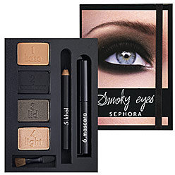 SEPHORA COLLECTION Beauty In A Box Smoky Eyes Palette