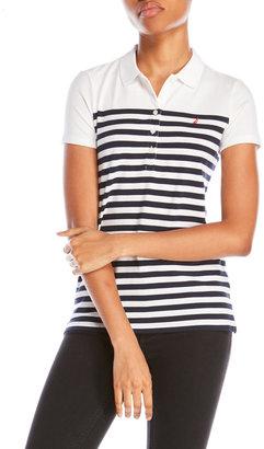 nautica Striped Bodice Polo $49.50 thestylecure.com