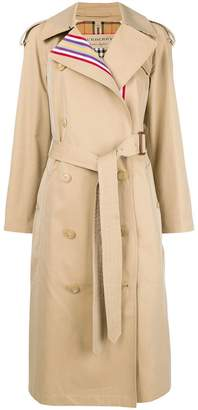 Burberry classic belted raincoat