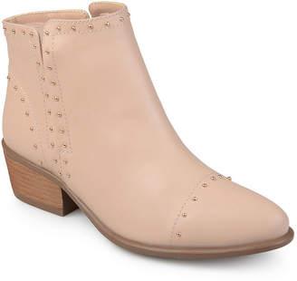 Michael Antonio Journee Collection Womens Gypsy Bootie Block Heel Pull-on