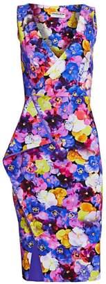 Chiara Boni Gota Sleeveless Floral Print Dress