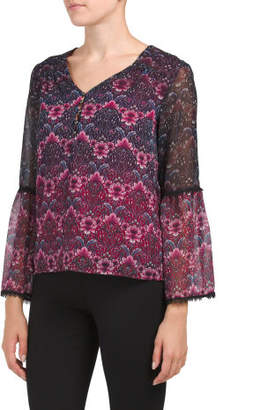 Placed Printed Blouse