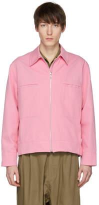 Studio Nicholson Pink Marque Jacket
