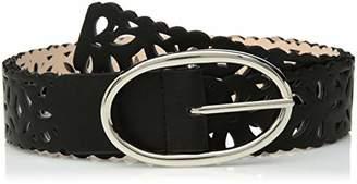 Steve Madden Women's Reversible Perforated Belt