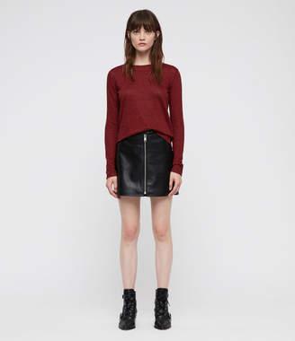 AllSaints Esme Linen Stripe T-Shirt