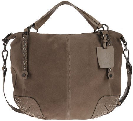 JANET & JANET Large leather bag