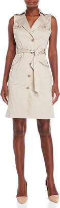 Karen Millen Safari Pocket Belted Dress