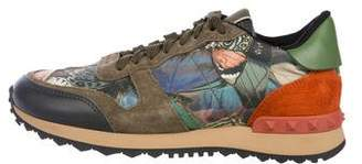 Valentino Camu Butterfly Rockrunner Sneakers