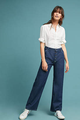 MiH Jeans Paradise Ultra High-Rise Wide-Leg Jeans