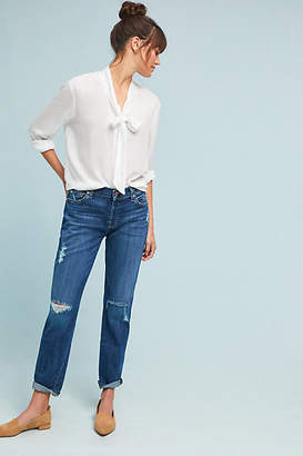 7 For All Mankind Josefina Mid-Rise Slim Boyfriend Jeans