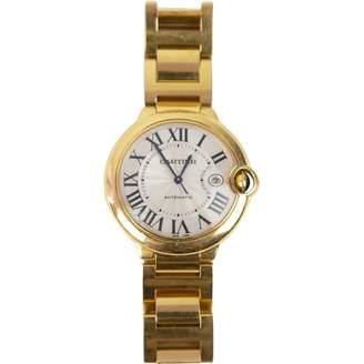 Cartier Ballon bleu yellow gold watch