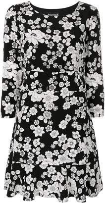 Moschino floral print ruffle hem dress