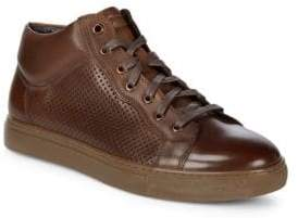 Encore Leather High-Top Sneakers