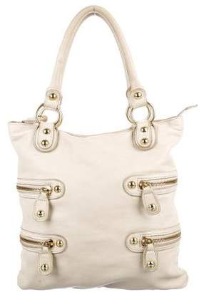 Linea Pelle Grained Leather Shoulder Bag