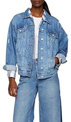 Esprit edc by Women's 048cc1g006 Denim Jacket