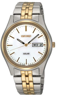 Seiko Solar Quartz SNE042 Bracelet Watch