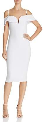 Nookie Pretty Belle Cold-Shoulder Dress