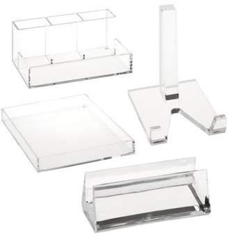Honey-Can-Do Acrylic Desk Organization Bundle