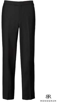 Banana Republic Monogram Standard Italian Tuxedo Pant