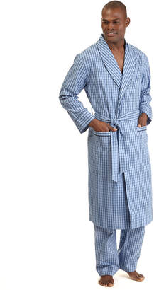 Nautica (ノーティカ) - Nautica Men's Woven Plaid Robe