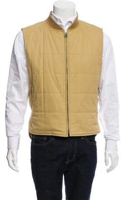 Burberry Golf Quilted Down Vest