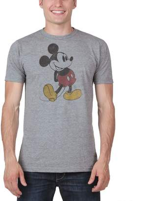 Mighty Fine Mickey Mouse Classic Distressed T-Shirt
