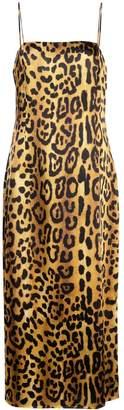 ADAM by Adam Lippes leopard cami dress