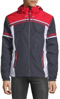 Superdry Colorblock Hooded Jacket