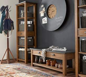 Pottery Barn Channing 3-Piece Bench & Tower Entryway Set