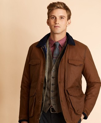 Brooks Brothers Four-Pocket Waxed Canvas Jacket
