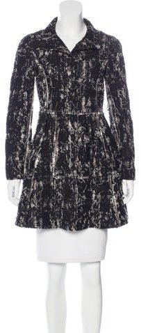 Alice + Olivia Alice + Olivia Frayed Short Coat