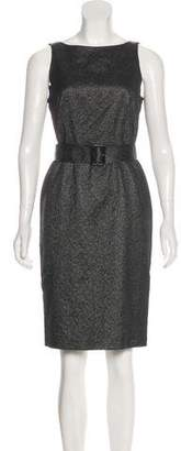 Burberry Metallic Sleeveless Dress w/ Tags