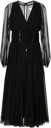Versace 3/4 length dresses
